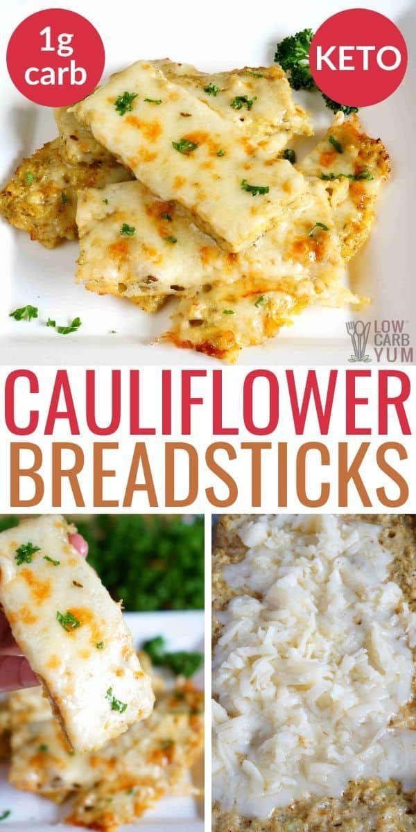 Cheesy Keto Cauliflower Breadsticks Is One Of The Best Cauliflower