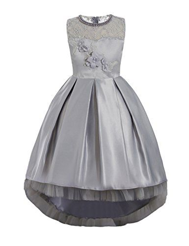 eef278cc777 Tulle Flower Girl Dress Princess Pageant Ball Gown Bridesmaid Wedding First  Communion Dresses