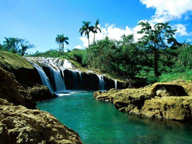El Nicho Falls, amazing Cuban nature.