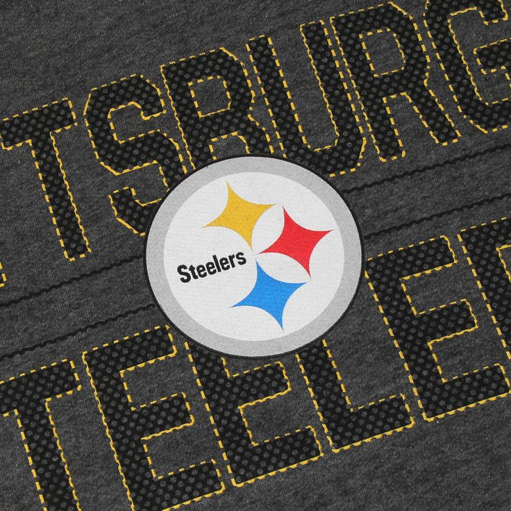 Majestic Pittsburgh Steelers Charcoal Big & Tall Kick Return Pullover Hoodie