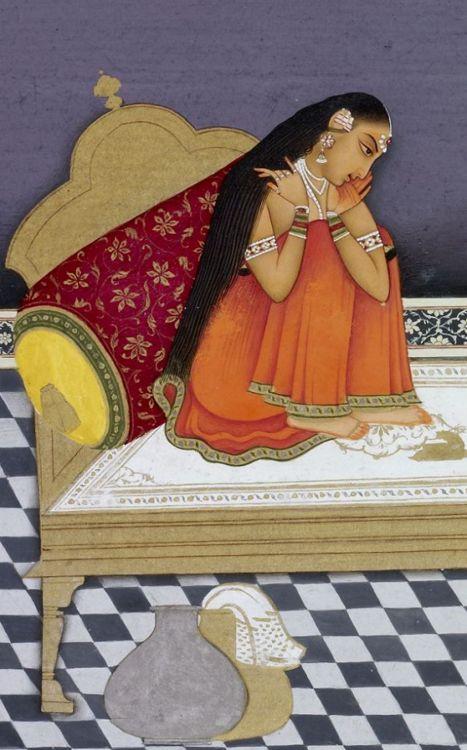paintings rajasthani art indian mughal miniatures rajasthani miniature ...