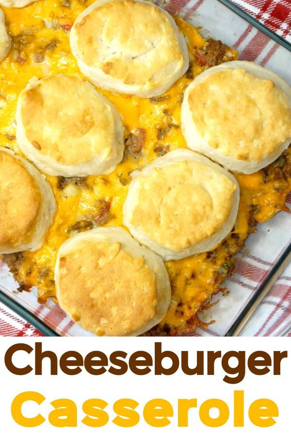 Cheeseburger Casserole With Pillsbury Biscuits This Is Not Diet Food In 2020 Pillsbury Biscuits Recipes Using Ground Beef Hamburger Casseroles Recipes