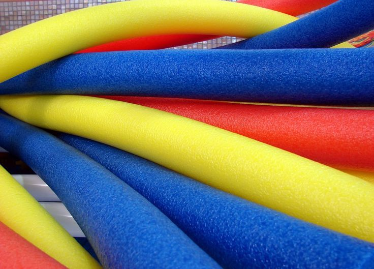 Physical Education Lessons using Pool Noodles