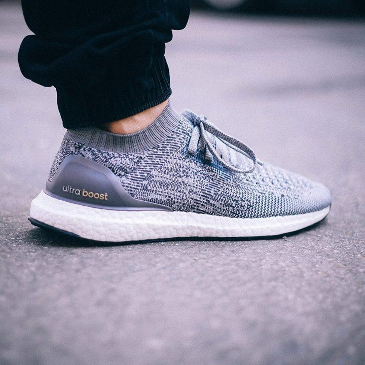 Take a look at these latest images of the upcoming adidas Ultra Boost  Uncaged coming in thr Grey colorway.