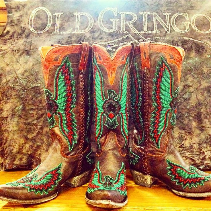 These beaded beauties are at http://texasbootcompany.com/old-gringo-eagle-chaquira-boots-l1567-1.html