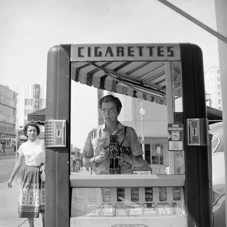 Vivian Maier's self portraits