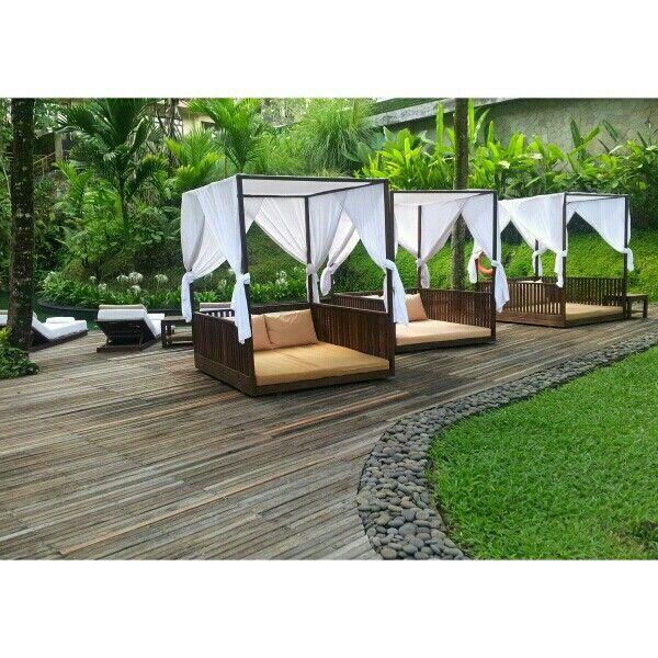 Lazy sun deck #komaneka #ubud