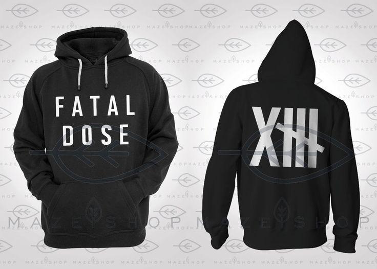The Gazette Fatal Dose Hoodie One Ok Rock BabyMetal Scandal Dir en Grey Xjapan  #Handmade #Hoodie