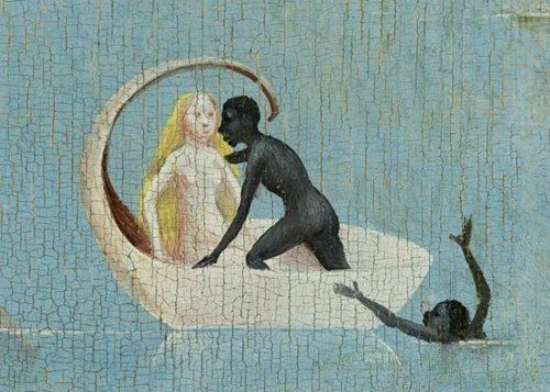 The Garden of Earthly Delights (detail), Heironymous Bosch
