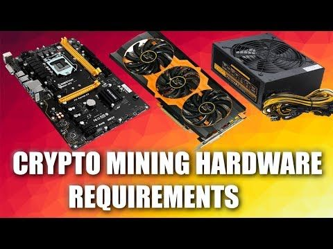 What equipment is required to mine cryptocurrency
