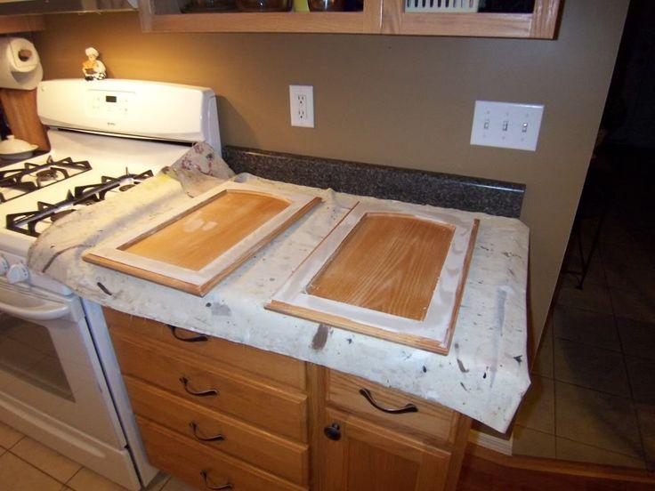 best 20+ painting oak cabinets ideas on pinterest | oak cabinets