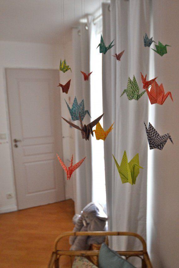 origami-mobiel.. Waar zal ik deze eens voor maken?!
