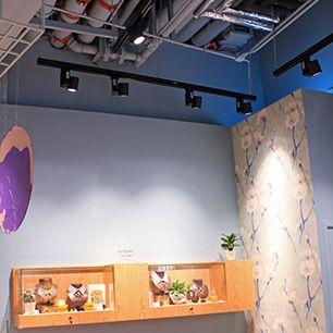 MEGAMAN | Les Néréides - Retail Lighting Projects | Successful Case Studies, Shop Lighting, Showcase Lighting