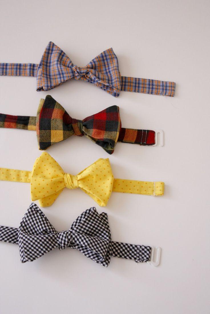 DYI bow ties