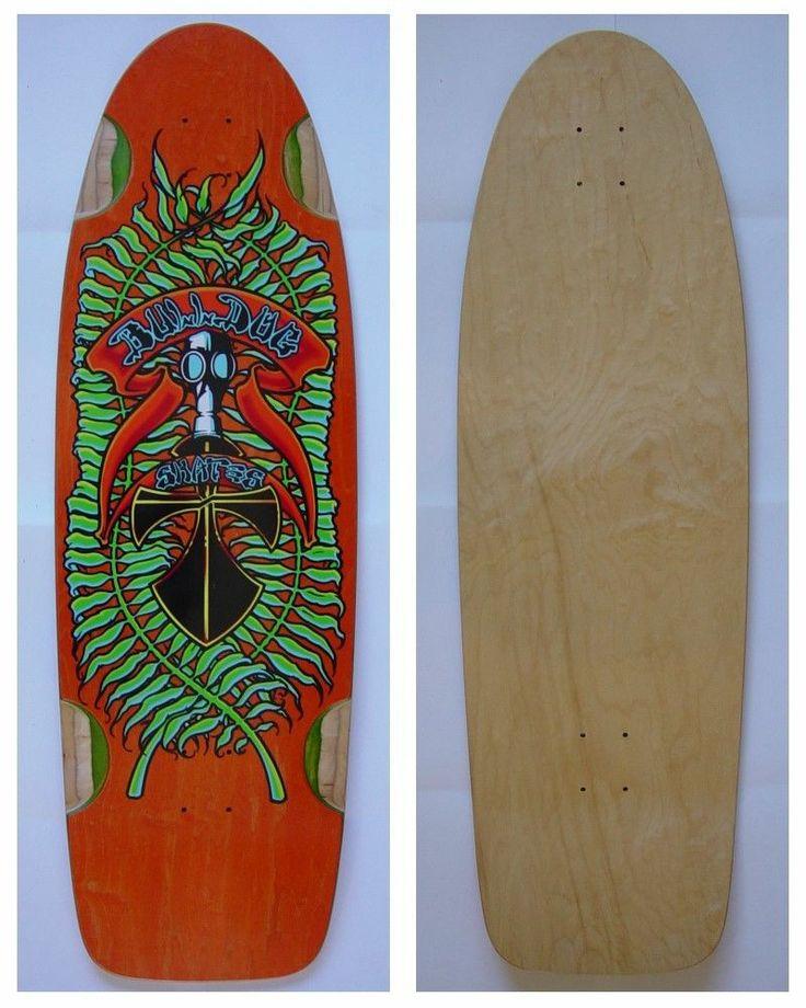 Fresh on the Bay today! Bulldog Skates BDS 2nd Gen Long Pig Skateboard Deck Wes Humpston Dogtown