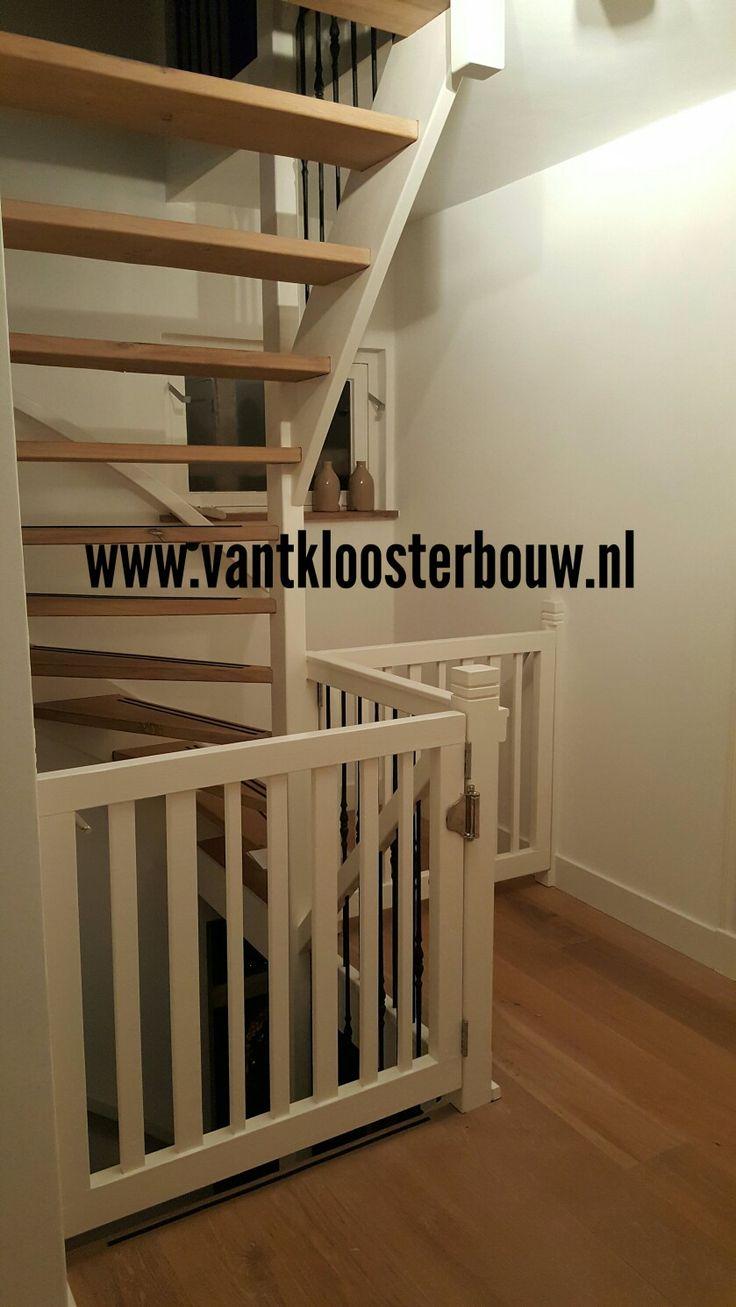 10 idee n over open trap op pinterest kelder trap trappen en trap leuning - Redo houten trap ...