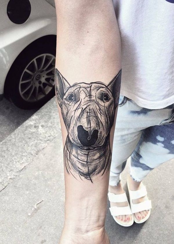Niedliche Hund Tattoo Designs Tatowierung Tatuajes