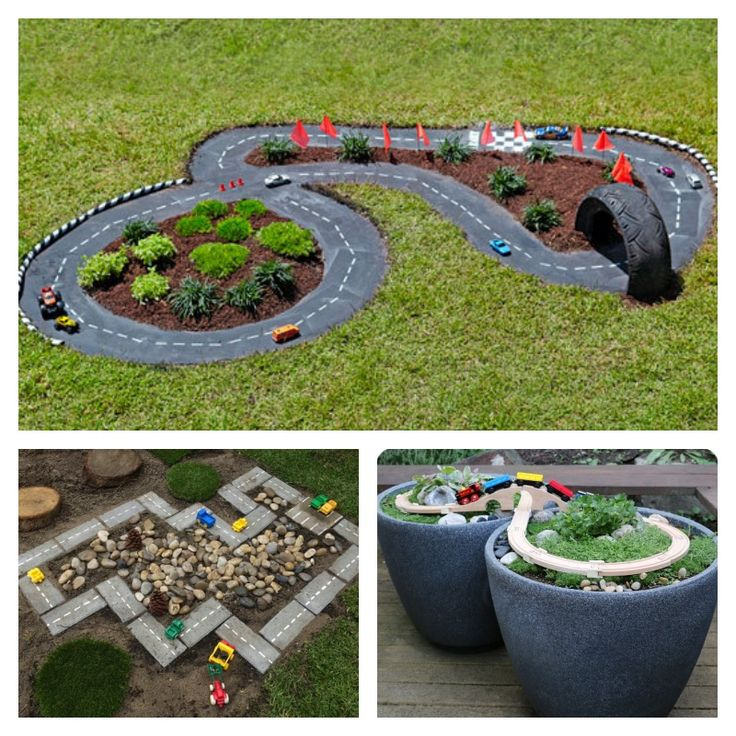 Playing with toy cars is every littlie's idea of good fun. Racing toy cars on little tracks is even more fun, but it is not easy to find places for them to play, or it is too costly. But have you thought about building a mini racetrack in your backyard …