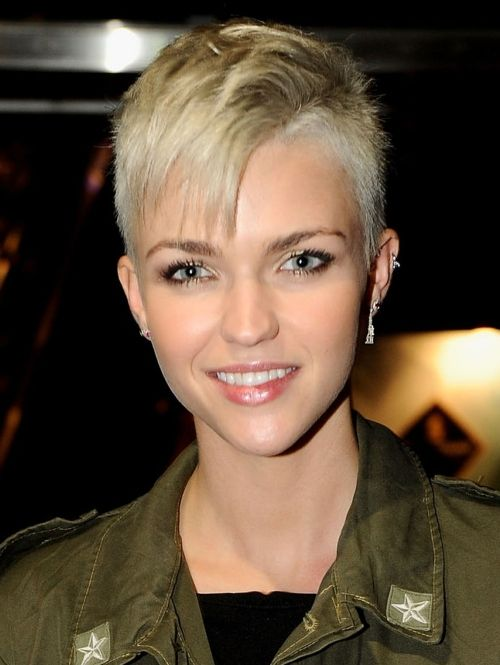 Best Ruby Rose Images On Pinterest Rose Roses And Ruby Rose - Undercut hairstyle ruby rose