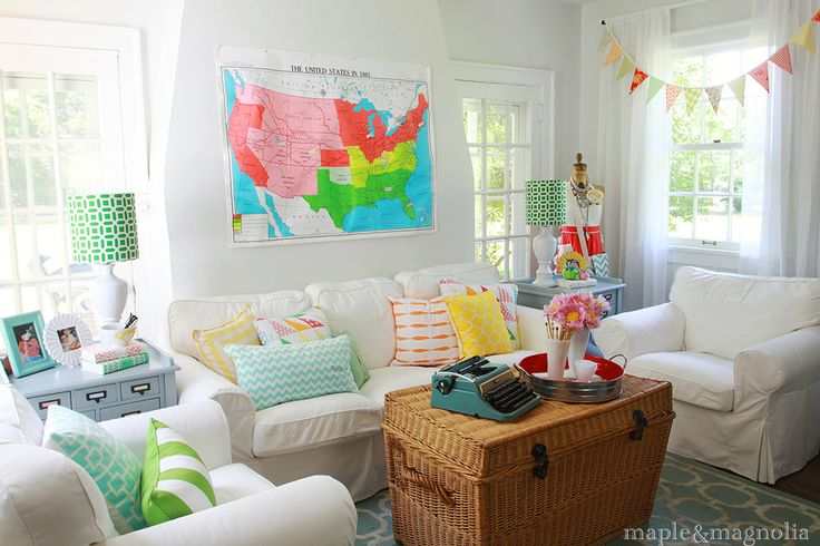 74 best images about home whimsical home decor that is for Colorful whimsical living room