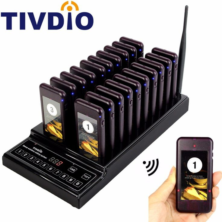 Big discount US $150.87  TIVDIO 999 Channel Restaurant Pager Queuing System Waiter Coaster Pagers 20 Call Button Buzzer Quiz Catering Equipment F9402A  #TIVDIO #Channel #Restaurant #Pager #Queuing #System #Waiter #Coaster #Pagers #Call #Button #Buzzer #Quiz #Catering #Equipment  #Online