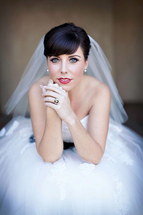 Beautiful bride photo by Ashleigh Taylor Photography | via junebugweddings.com
