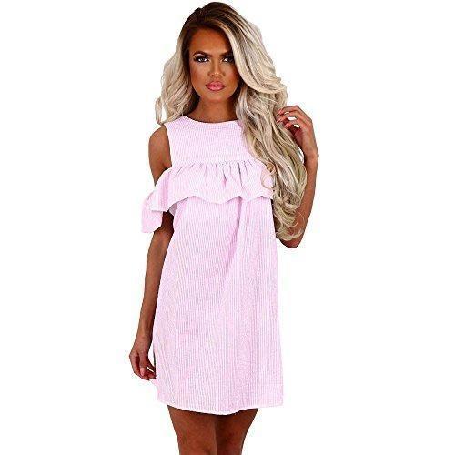 Oferta: 6.66€ Dto: -44%. Comprar Ofertas de vestidos verano mujer casual Switchali moda vestidos de fiesta cortos elegantes mujer Sin mangas mini el vestido de novia de barato. ¡Mira las ofertas!