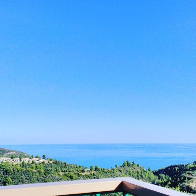 Just this view and nothing else #stemaworld #summer #Greece #Chalkidiki @Arispension