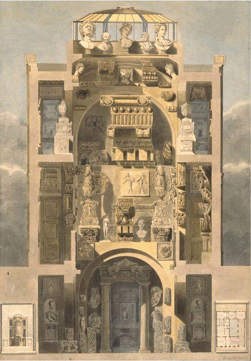 Sir John Soane's Museum Section