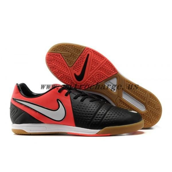 Latest Listing Discount Indoor Black White Bright Crimson Nike Libretto III  IC Football Shoes For SaleFootball Boots For Sale