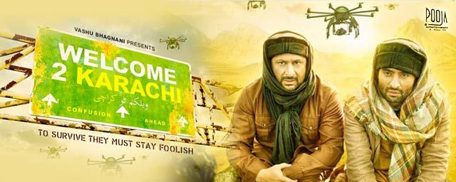 nice welcome to karachi Full Movie