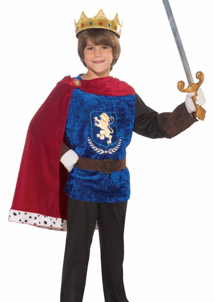 Majestic King Boys Child Royal Fairytale Halloween Costume
