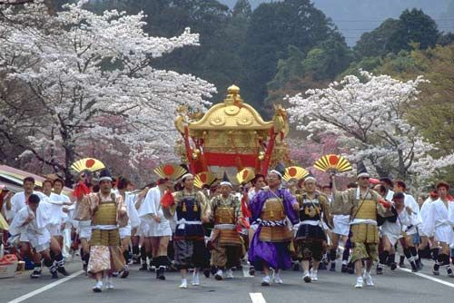Takayama Matsuri is held in spring an autumn every year. It is considered as one of the most beautiful festivals in Japan.