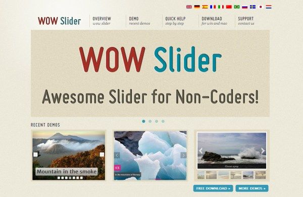 20 Awesome jQuery Sliders