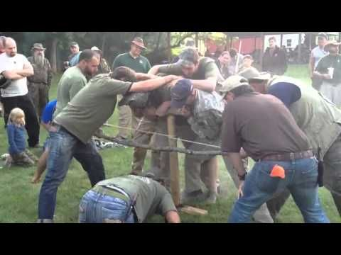 2012 Pathfinder Gathering MEGA Fire Building Bow Drill