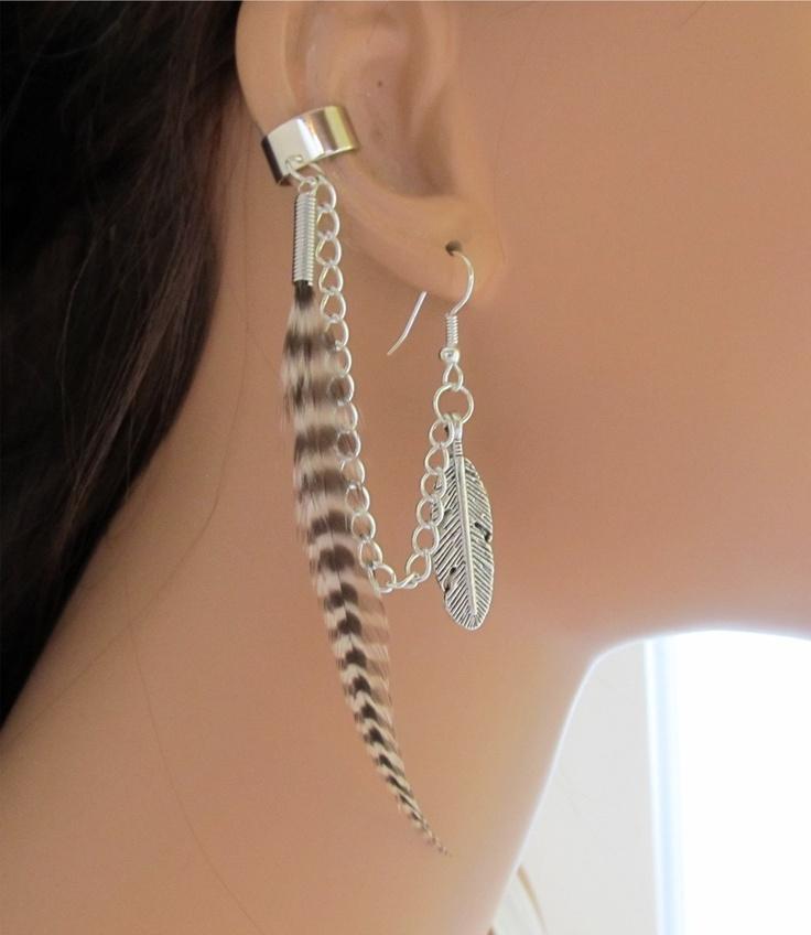 58 best cartilage chain earrings images on earrings