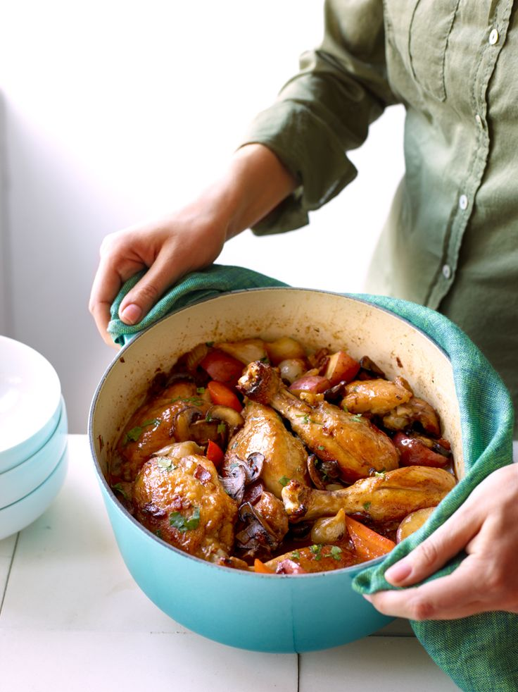 A Hearty Weight Watchers Friendly Stew Of Chicken And Veggies Cooked Up In