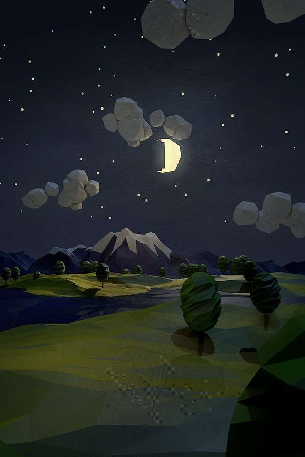 Low-Poly Nocturno
