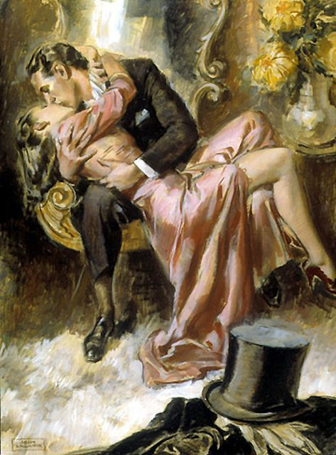 Best 25 vintage romance ideas on pinterest vintage couples john lagatta this was very racy considering it appeared in 1940 with a story couple illustrationillustration artvintage sciox Gallery