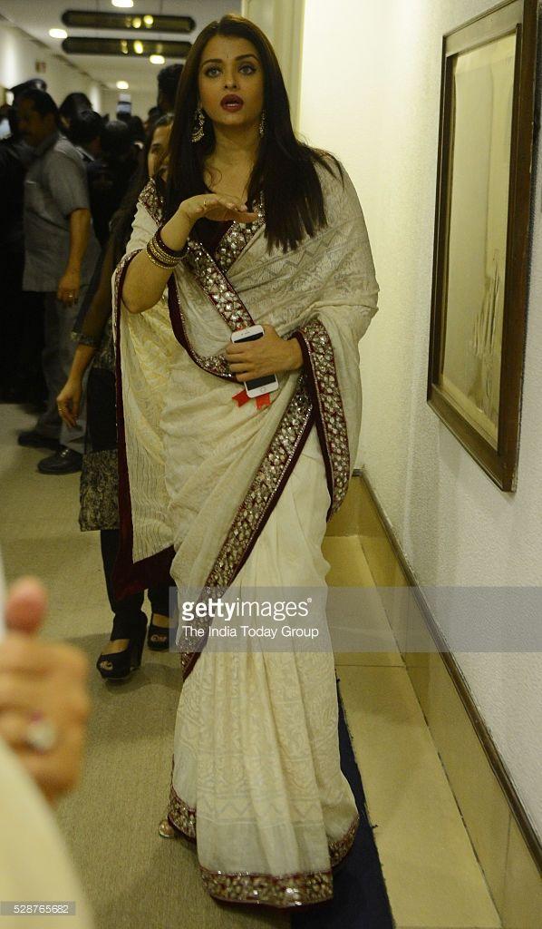 Aishwarya Rai Bachchan at the 63rd National Film Awards 2015 in New Delhi.