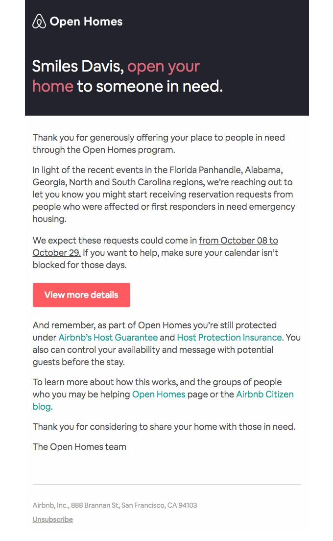 How You Can Help Hurricane Michael Really Good Emails Best