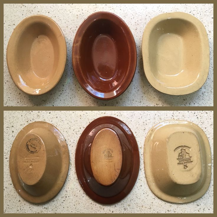 TG Green Vintage Individual Pie Dishes