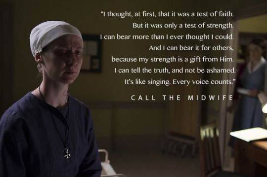 Love Call the Midwife and Mushy Stuff