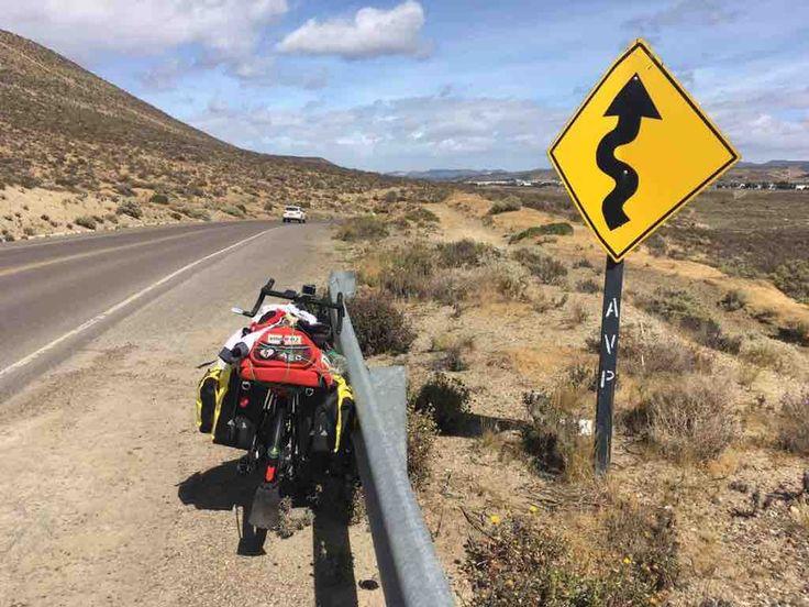 Patagonia Coast to Coast - Da Pescia alla Patagonia 100 giorni in bicicletta per il Dynamo Camp, con Paolo Pagni che si trova ora nella Patagonia Argentina.