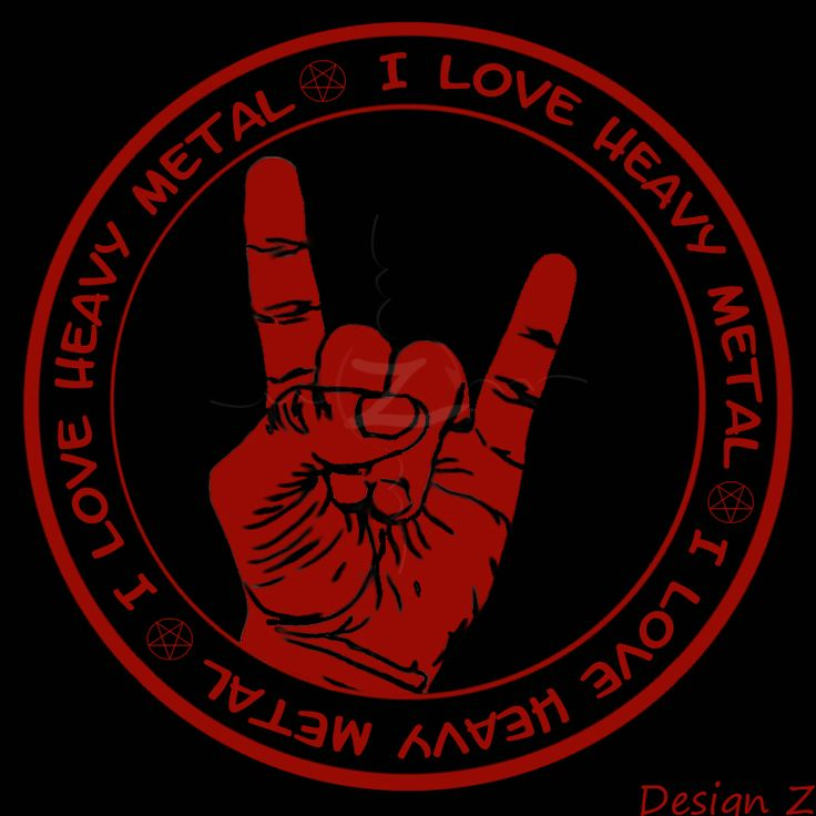 I love heavy metal radio logo | Visual Identity ...