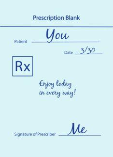 Happy National Doctor's Day Prescription (1039009)
