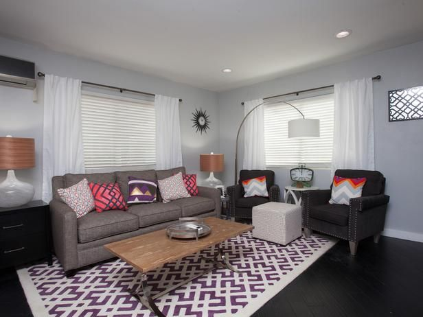 As seen on Flipping the Block...John and Whitney: Living Room, After