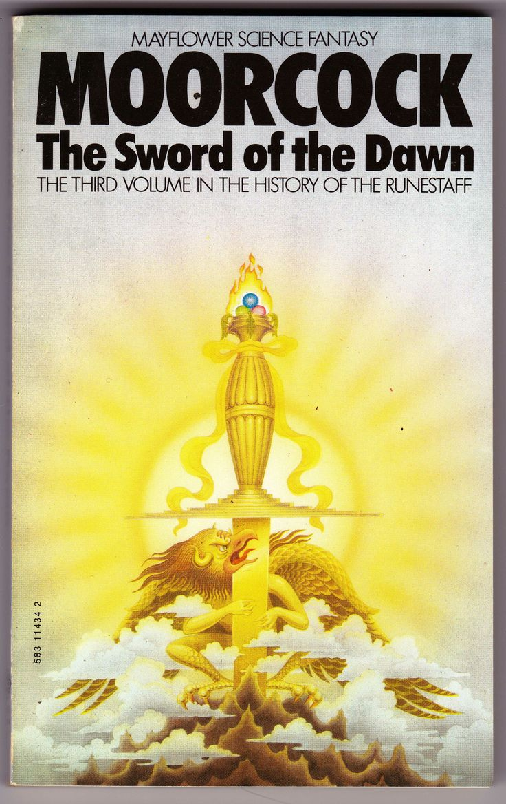 Book Cover Fantasy Yoga ~ Best images about bob haberfield moorcock book covers