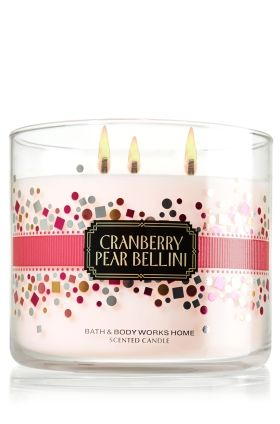 Cranberry Pear Bellini-Bath & Body Works- clean sweet scent