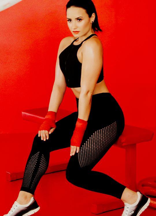 Demi Lovato for Skechers 2015 Campaign +UHQs